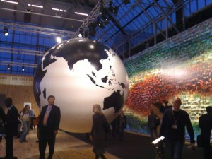 The world in our hands - photo at the Bella Center